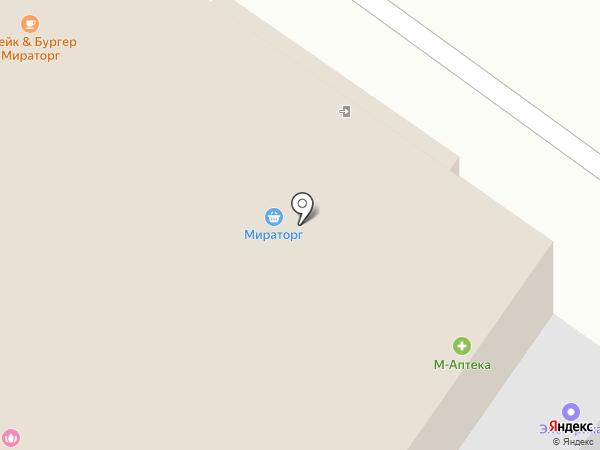 Мираторг на карте Раменского
