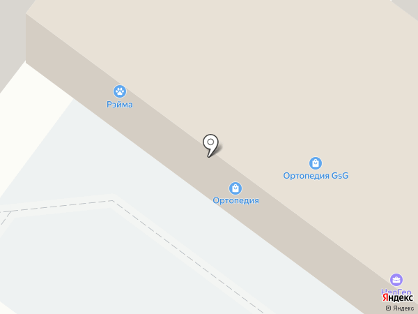 Магазин-кулинария на карте Раменского