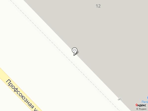 Ванька-встанька на карте Раменского