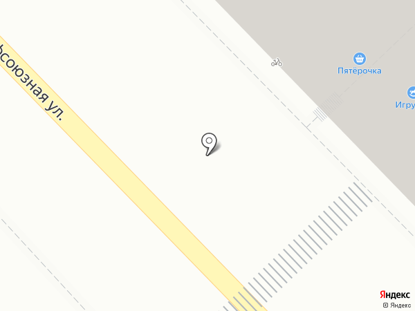 Пятерочка на карте Раменского