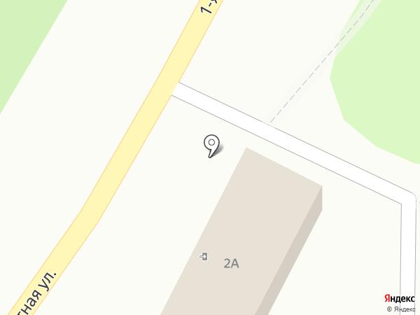 Телец на карте Новомосковска