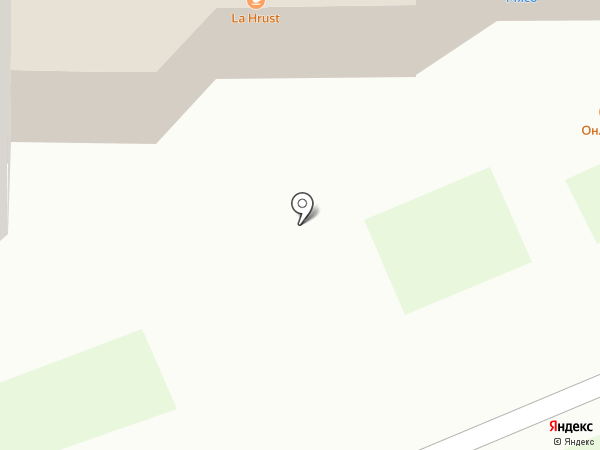 La Hrust на карте Раменского