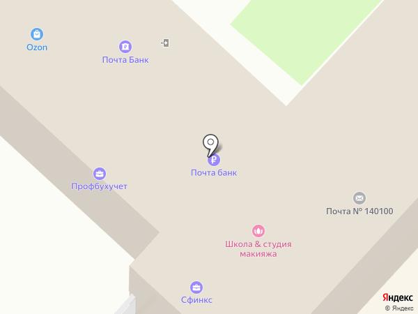 Банкомат, Банк Возрождение, ПАО на карте Раменского