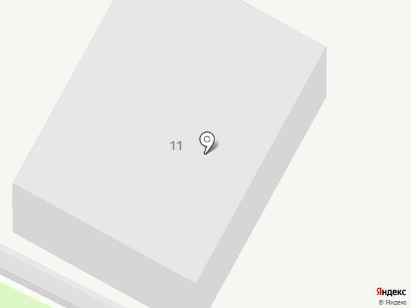 Автостоянка на карте Раменского