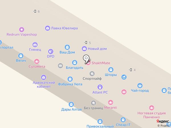 Раменки на карте Раменского