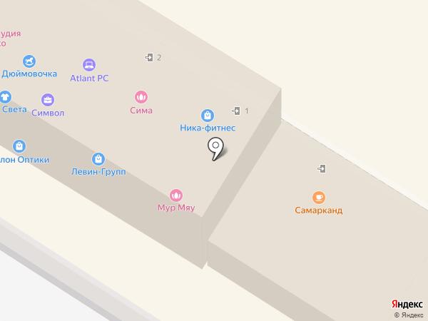 Самарканд на карте Раменского