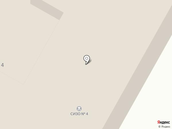 Следственный изолятор №4 на карте Новомосковска