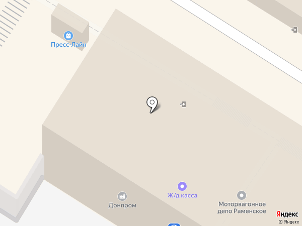 Банкомат, ВТБ Банк Москвы, ПАО Банк ВТБ на карте Раменского