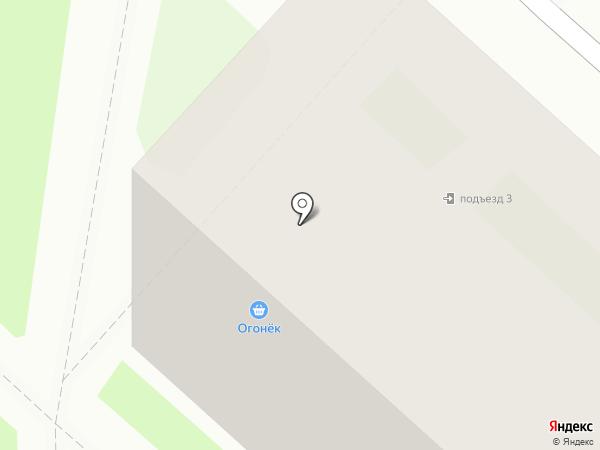 Огонек на карте Раменского