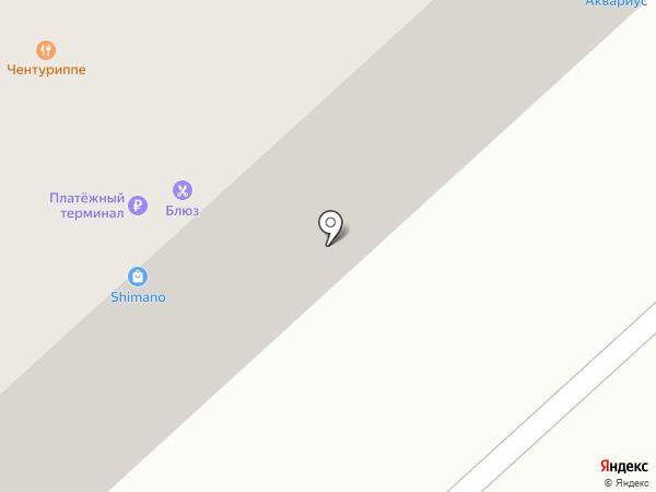 Аквариус на карте Раменского