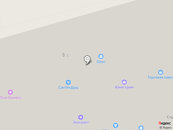СанТехДуш на карте Электроуглей