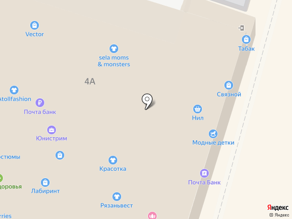 Bretelle на карте Раменского