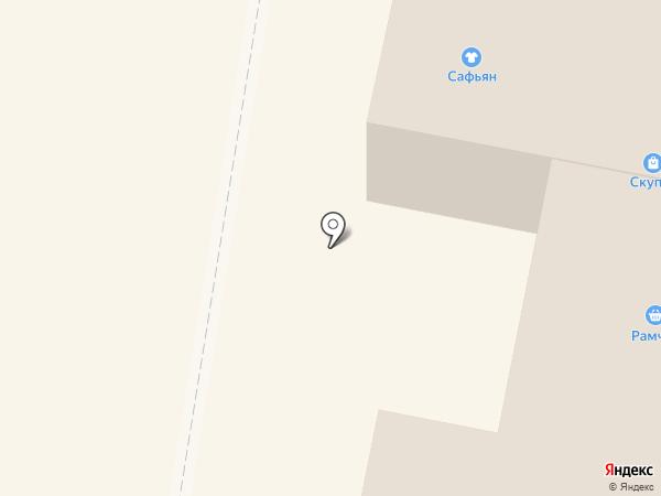 Магазин дисков на карте Раменского