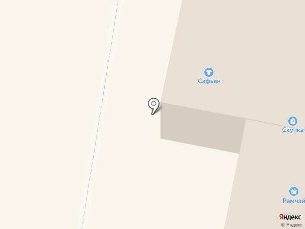 Рябинушка на карте Раменского