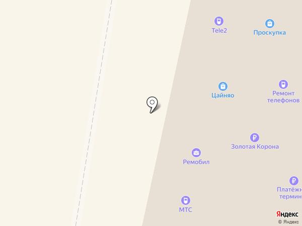 Связной на карте Раменского