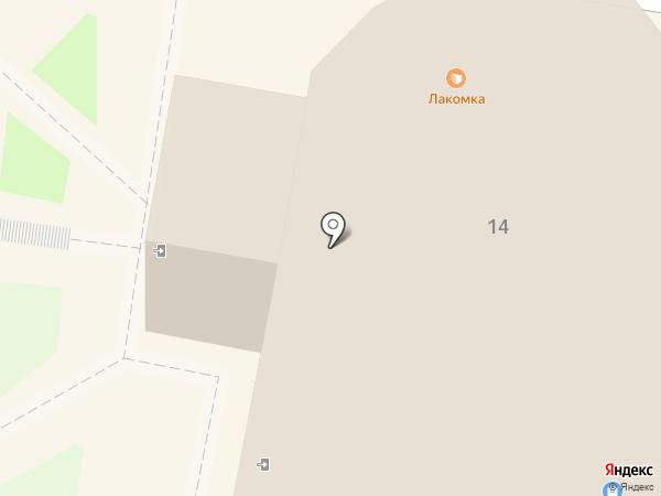 Лакомка на карте Раменского