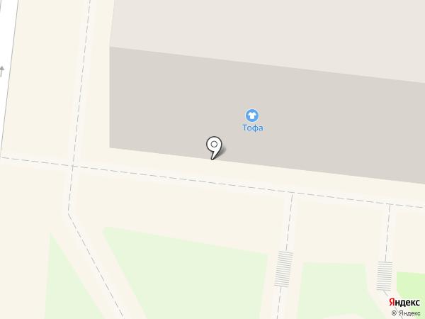 Тофа на карте Раменского