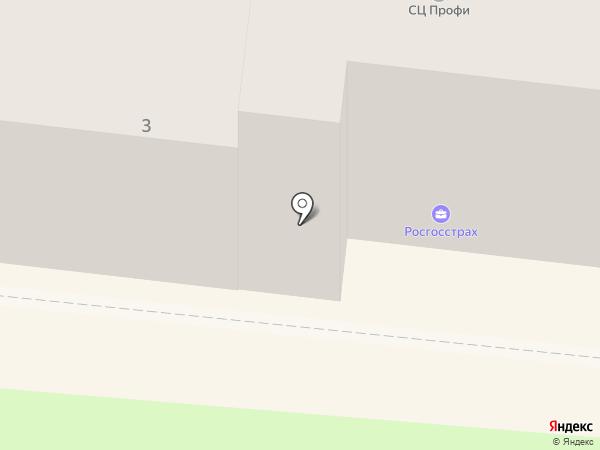 Росгосстрах, ПАО на карте Раменского