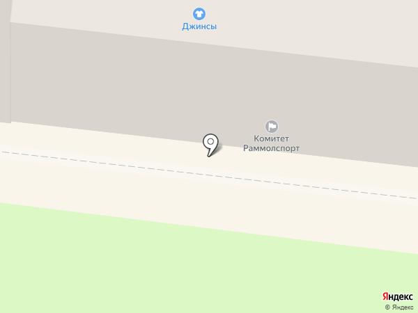 Раменский на карте Раменского