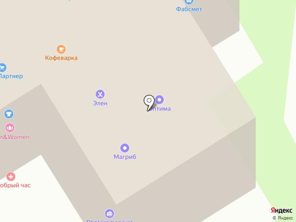Купидон на карте Раменского