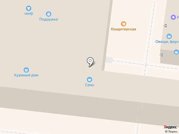 Куриный дом на карте Раменского