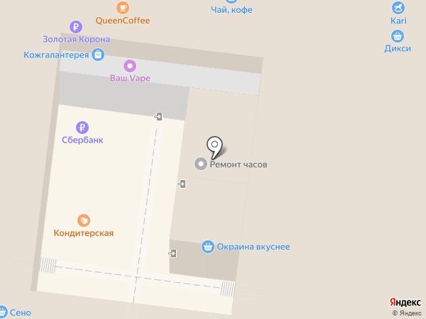 Каравай СВ на карте Раменского