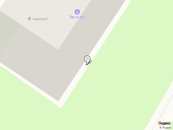 Тет а тет на карте Раменского