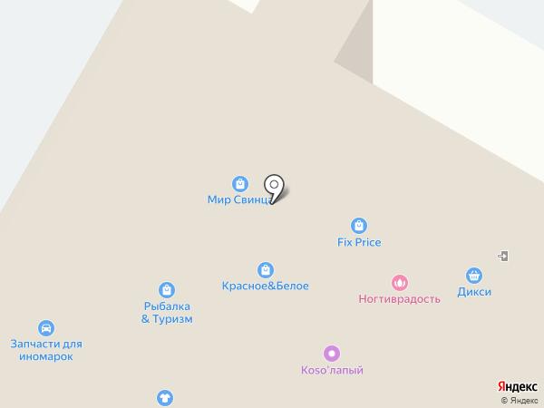 Город на карте Раменского