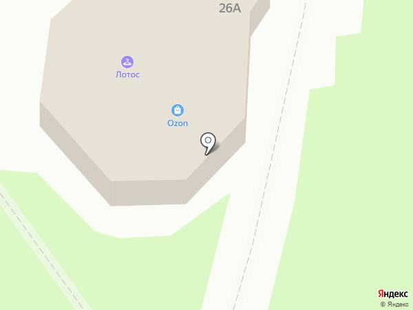 Терем на карте Раменского