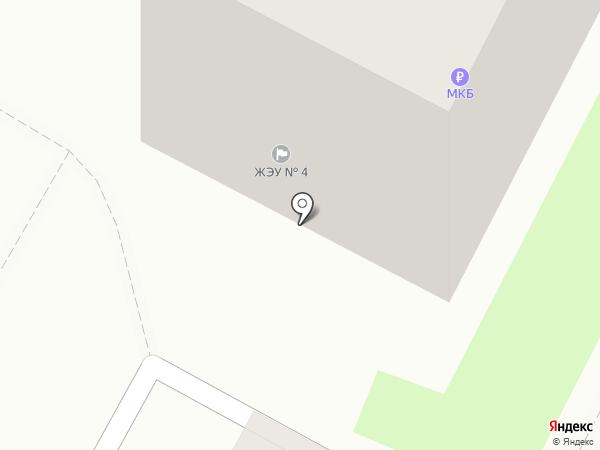 ЖЭУ №4 на карте Раменского