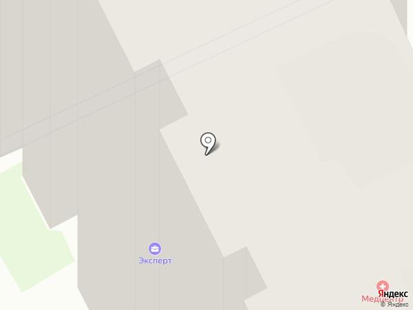 Кабинет остеопатической помощи на карте Раменского
