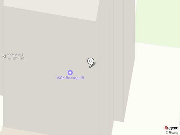 Восход-15, ЖСК на карте Раменского