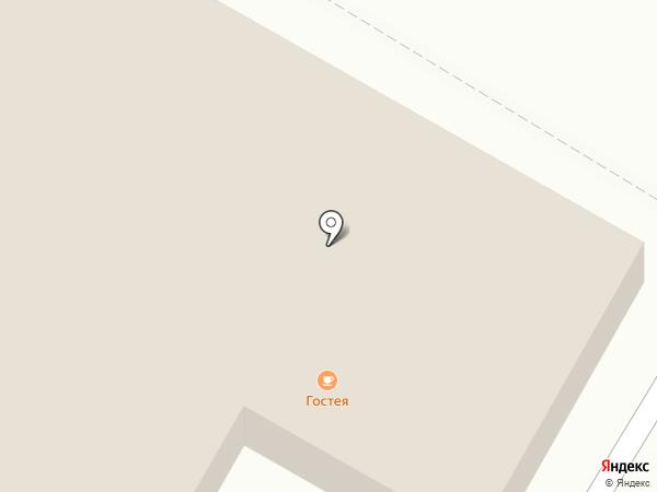 Гостея на карте Раменского