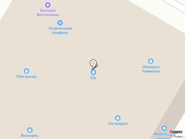 РАД на карте Раменского