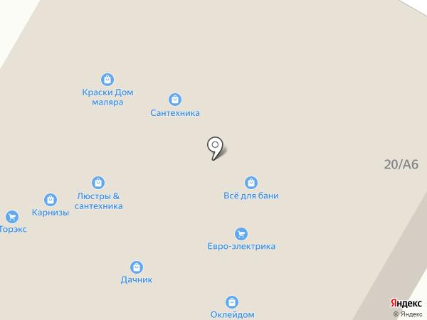 Дачник на карте Раменского