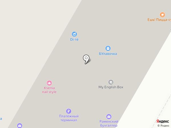 ПиэЛь на карте Раменского