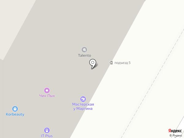 Таленто на карте Раменского