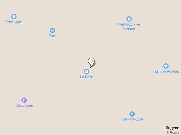 Svyatnyh на карте Новомосковска