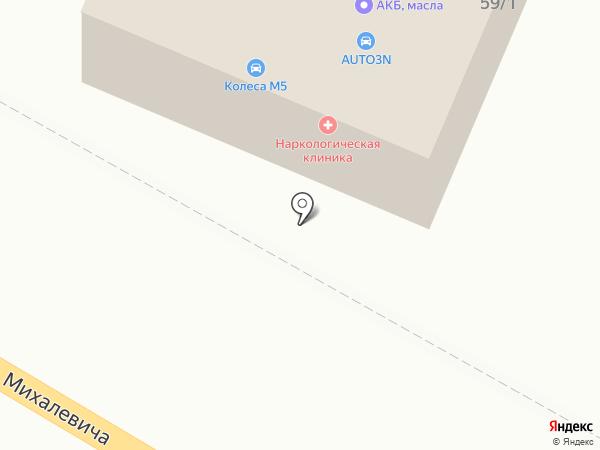 На Танеевке на карте Раменского