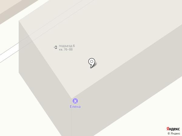 Елена на карте Новомосковска
