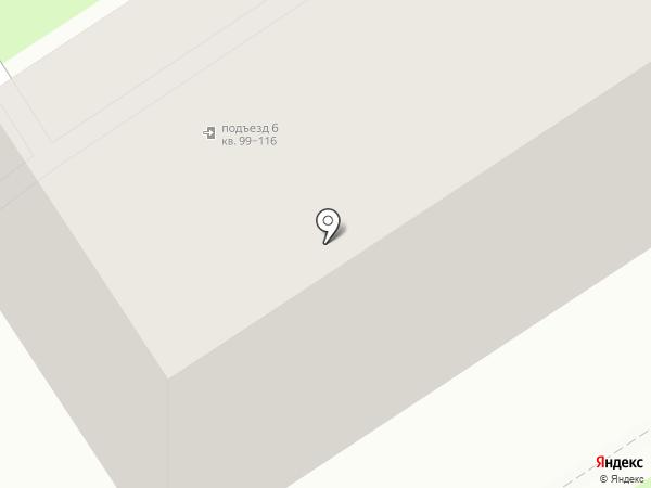 Богатырь на карте Новомосковска