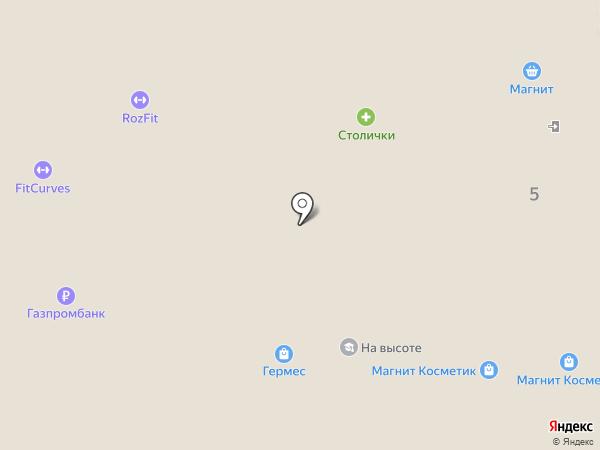 Атлас Люкс на карте Новомосковска