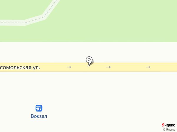 LaRose на карте Новомосковска