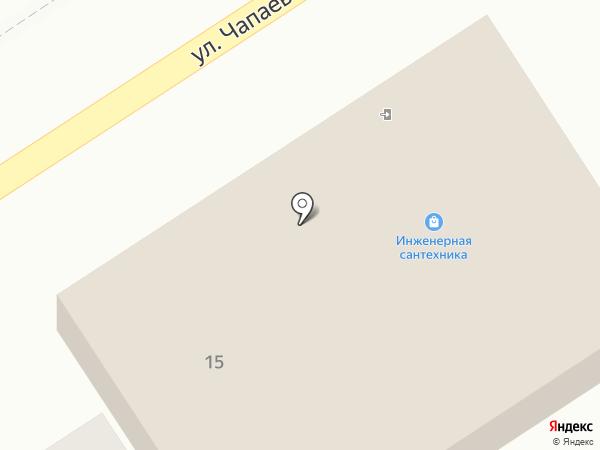 Магазин инженерной сантехники, электрики и крепежа на карте Новомосковска