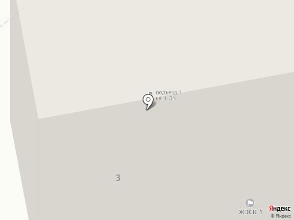 Жилищно-эксплуатационная сервисная компания-I на карте Новомосковска