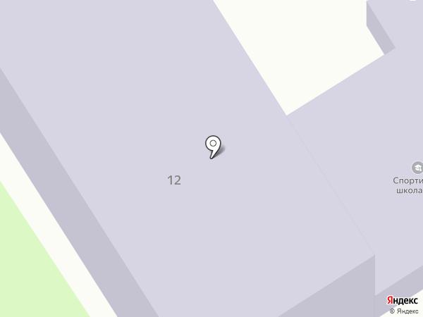 ДЮСШ №1 на карте Новомосковска