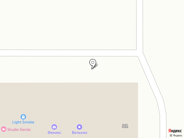 Ателье у Елены на карте Новомосковска