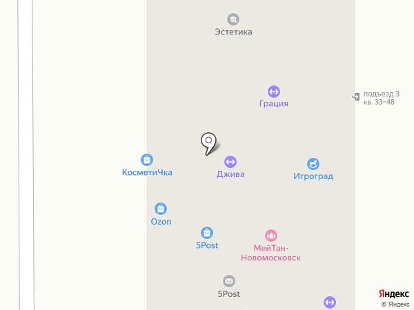 Техника на карте Новомосковска