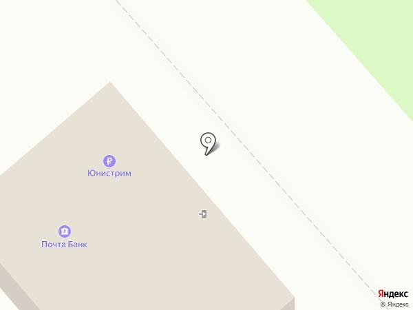 Банкомат, Газпромбанк на карте Новомосковска