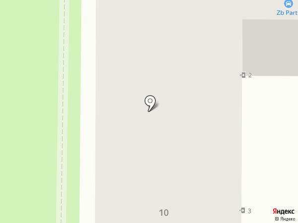 Эдем на карте Новомосковска